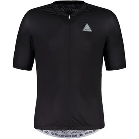 Maloja PlansM. Breeze Shortsleeve Bike Jersey Herren moonless